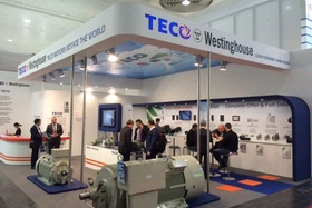 V.I.M.E.C. SRL at the Hannover Fair 2015 with the TECO-WESTINGHOUSE motors !