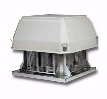 Centrifugal roof extractors TCR Series - Horizontal flow