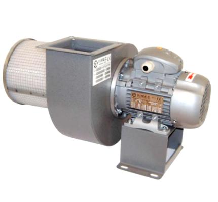 Ventilatori centrifughi a semplice aspirazione per basse e medie portate e pressioni
