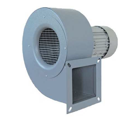 Centrifugal fans with simple inlet
